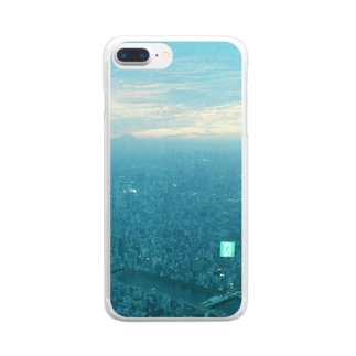 paraiso tokyo Clear smartphone cases