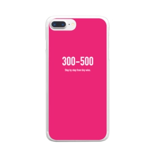 POINTS - 300-500 Clear smartphone cases