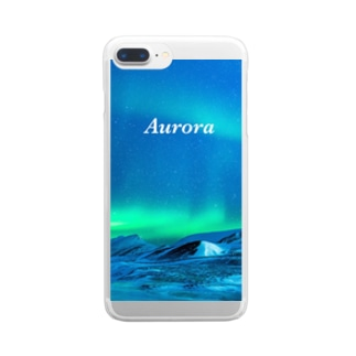 Aurora Clear smartphone cases