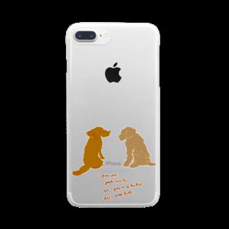 mya-mya=MIYA JUNKO's shop 02のバジルとオレガノ Clear smartphone cases