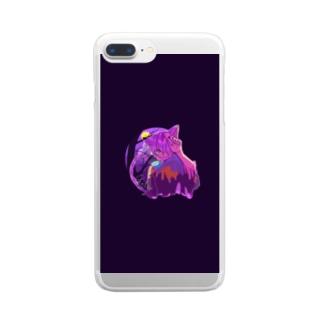 チェシャ猫様 Clear smartphone cases