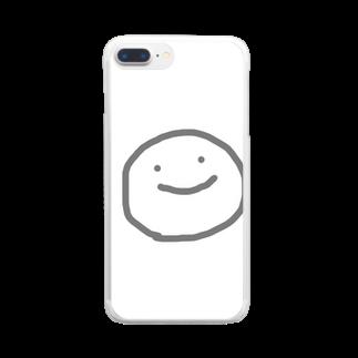 おはさんのにこにこまる Clear smartphone cases