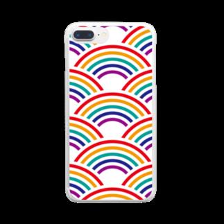 kagura9のSEIGAIHA01(カラーR) Clear smartphone cases