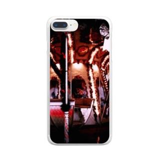 あなたをメリーゴーランドに。 Clear smartphone cases