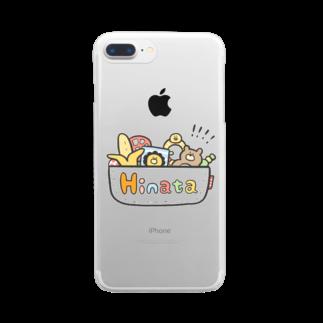 ゆゆ丸のひなた◎ Clear smartphone cases