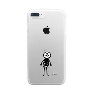 にこまる Clear smartphone cases