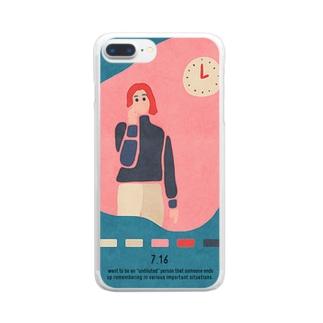 【2019.07.16】新井リオの英語日記グッズ Clear smartphone cases