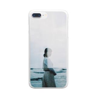 拝啓、水槽の中 Clear smartphone cases