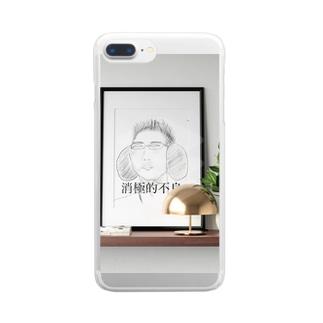 消極的不良 Clear smartphone cases