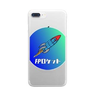 フランスピアノ FPロケットグッズ Clear smartphone cases