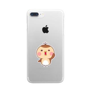 ユキちゃん Clear smartphone cases