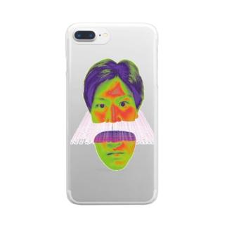 俺だ Clear smartphone cases