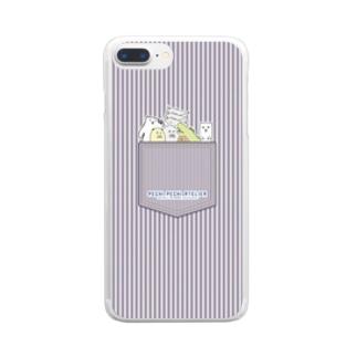ゆるきゃらズ ヒッコリーver. Clear smartphone cases