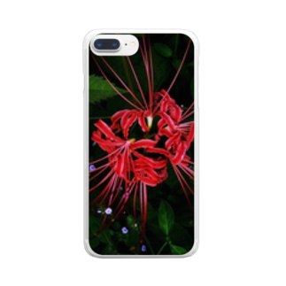 red spider lily Clear smartphone cases