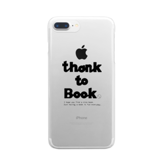 honneのTHANKS to BOOK Clear smartphone cases