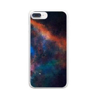 """MEMORIES:2|夜空に瞬く,虹の彼方へ"" Clear smartphone cases"