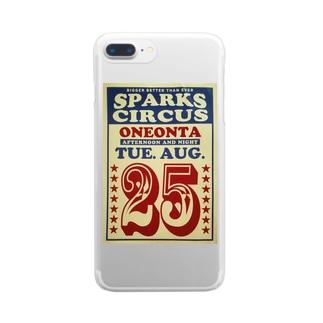 レッツゴー!!サーカス!! Clear smartphone cases