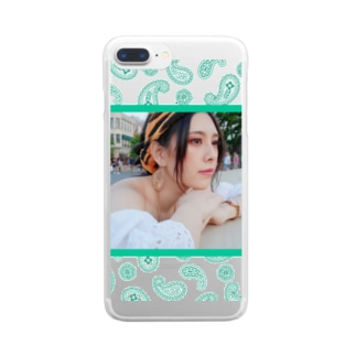 ジャスミン風あびー Clear smartphone cases