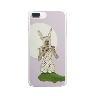rabbit Clear smartphone cases