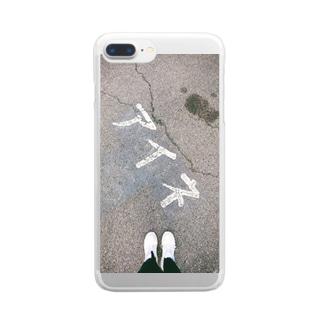 アイネ Clear smartphone cases