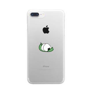 おにぎりマイスター Clear smartphone cases