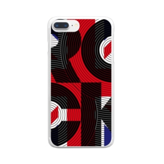 ROCK GROOVE [UK version] Clear smartphone cases