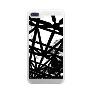 CLOUDY SKY Clear smartphone cases