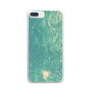 グリーンケース Clear smartphone cases
