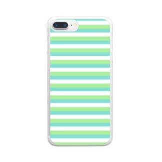 【COLOM.】コロ。Sea and Tea...スマホケース Clear smartphone cases