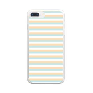 Sea and Tea... スマホケースシーアンドティーシリーズ。 Clear smartphone cases