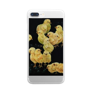 郡雛図 Clear smartphone cases