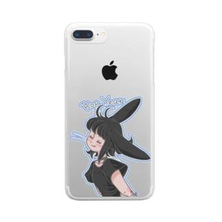 聞き耳RopYear Clear smartphone cases