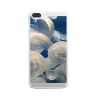 hoshiのくらげ Clear smartphone cases