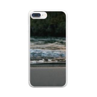 凪の黄昏に L Clear smartphone cases