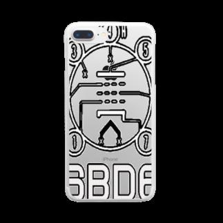 アズペイントの6BD6 Clear smartphone cases