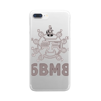 6BM6 Clear smartphone cases