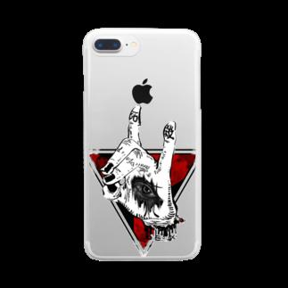 NEROGROの強欲くん Clear smartphone cases