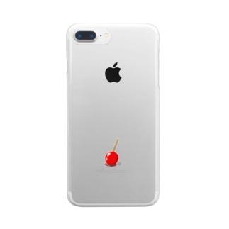 りんごあめ Clear smartphone cases