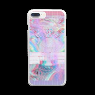 vapor__yujin__の...郷愁...プレい...⚡ Clear smartphone cases