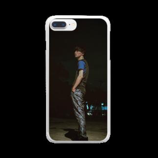 泷上智明のTomoaki Takigami 2019  Clear smartphone cases