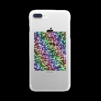 WaxTerKの商品棚の壊れたコア Clear smartphone cases