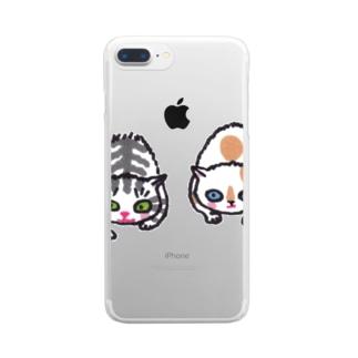 ずずずいっ Clear smartphone cases