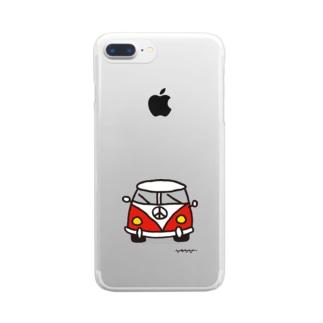 FURGO ROJA Clear smartphone cases