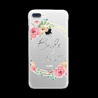 一羽のすずめのthe Bride of Christ Clear smartphone cases