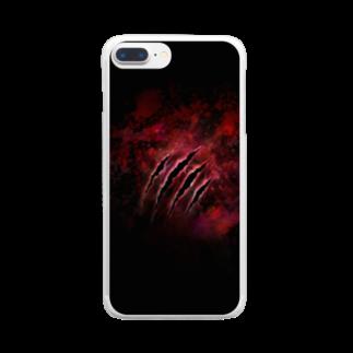 黒い天使のMonster×Monster Clear smartphone cases