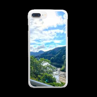 りょーまの夏休み Clear smartphone cases