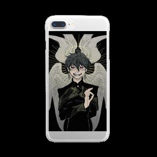 natsuの✝︎ Clear smartphone cases