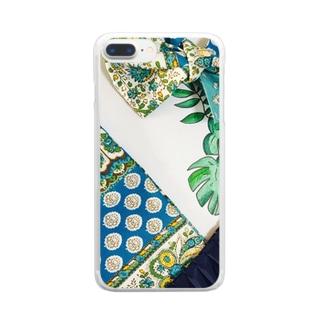 ボタニカルアーティ💗ラモンド Clear smartphone cases