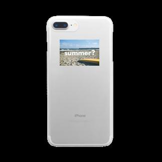 ヤマダのsummer? Clear smartphone cases
