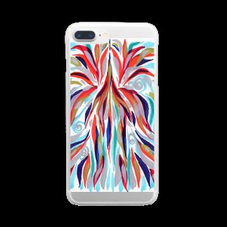 音楽工房田中(YouTuber,Music,Healing)の瀬織津姫.昇り Clear smartphone cases